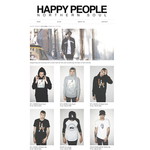 zacke happy people Zacke X Happy People X LÅ Hoodie & T shirt